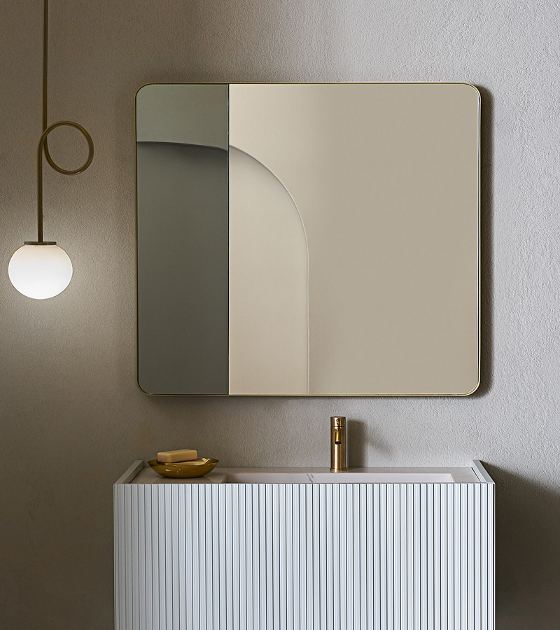 Pirovano-specchiera-Cubo-2-oro